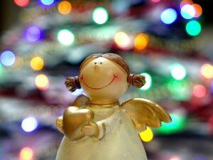 Jule Engel ifb. med julegudstjeneste